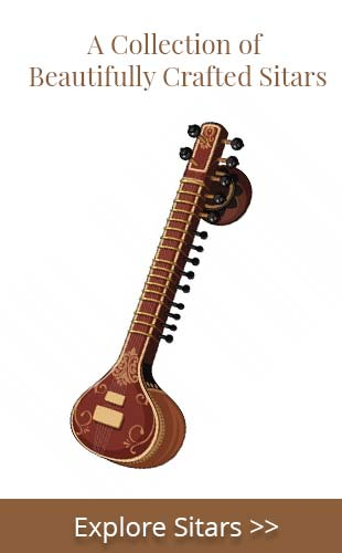 Explore Premium quality Sitars and Tanpuras by India Sitar