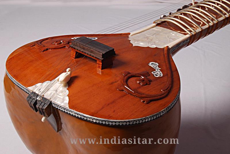 Vilayat Khan style sitar by India Sitar